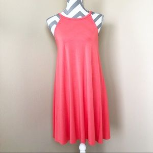 NWT Old Navy sleeveless pink T-shirt swing dress